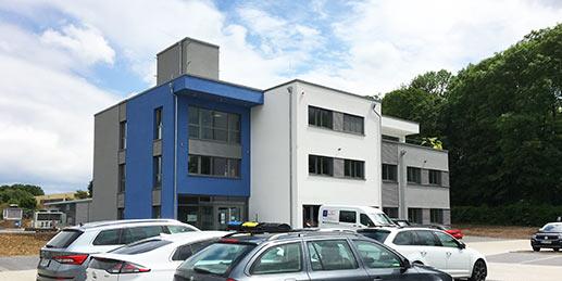 Neuer VegaSystems Firmensitz