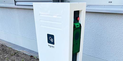 Ladesäule für E-Autos in Paderborn